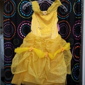 Disney Belle beauty & beast dress up sz 6 6x